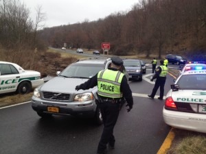 DWI checkpoint on 3-16-12