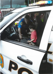 Bedford Police at Truck day - 2015