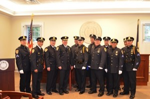 Bedford PD award recipients on 5-15-13
